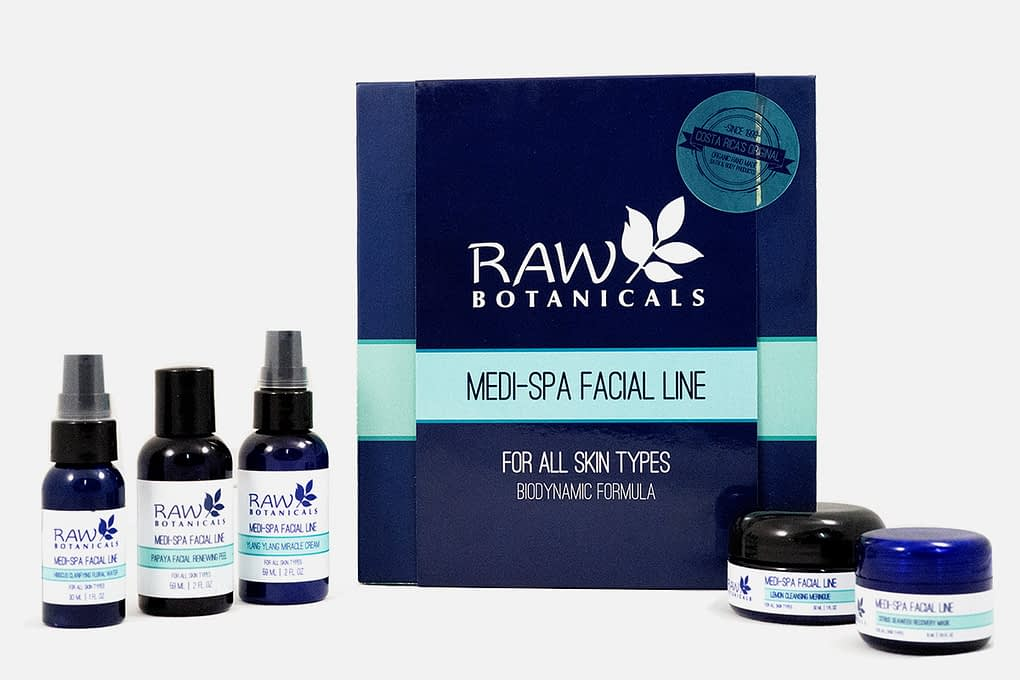 Organic Medi Spa Facial Kit-Light